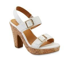 canyon river blues women u0027s nia white high heel sandal