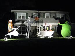 nightmare before yard decorations x