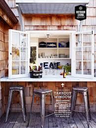 fast food window at home neat backyard ideas pinterest