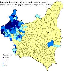 Map Eastern Europe A 1932 Map Of The Ethnic German Population In Eastern Europe