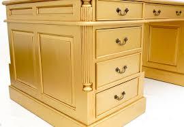 bureau style victorien bureau doré anglais acajou plateau bristol meuble de style