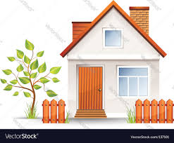 small house royalty free vector image vectorstock