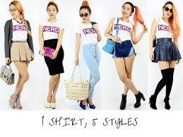 1 t shirt 5 different styles u2013 hook clothing
