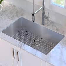 undermount kitchen sink kraus 30 x 18 undermount kitchen sink reviews wayfair