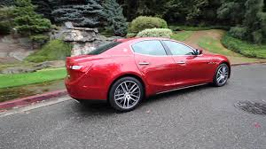 maserati ghibli red 2015 2014 maserati ghibli red exterior interior 360 view youtube