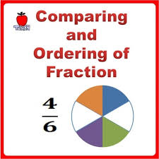 comparing ordering fractions worksheets 3rd grade 4th grade