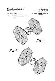 Wall Blueprints by Star Wars Tie Fighter Patent Patent Print Wall Decor Star Wars