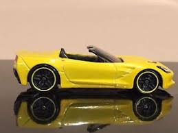 hotwheels corvette stingray wheels 2015 c7 corvette stingray yellow chevy vhtf