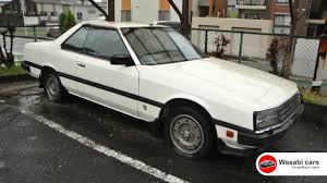 nissan skyline wagon for sale neglected 1982 kdr30 nissan skyline dohc rs turbo youtube