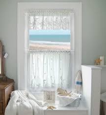 Gray Bathroom Window Curtains Interesting Small Bathroom Window Curtains And Bathroom Window