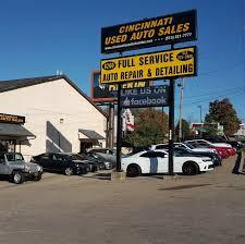 cincinnati used auto sales llc recently sold