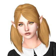 cc hair for sism4 mod the sims steunk pigtails hairstyle for sims 4