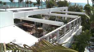 soho house hotel en fold retractable roof by uni systems youtube