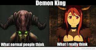 Demon Memes - otaku meme 盪 anime and cosplay memes 盪 demon king otaku vs