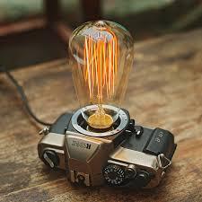 aliexpress com buy creative desk lamp vintage camera light
