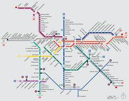 Maps Portland by Portland Oregon Subway Map My Blog
