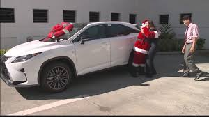 lexus suv the best gift a lexus suv youtube