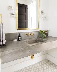 Cement Bathroom Sink - best 25 concrete basin ideas on pinterest concrete sink
