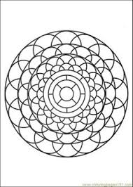 kaleidoscope coloring pages free printable coloring