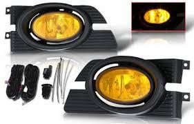 2001 honda accord fog lights honda accord sedan 2001 2002 yellow fog lights kit a12475e2103