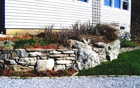 Rock Garden Planters by How To Build A Retaining Wall For Cheap Youtube Loversiq