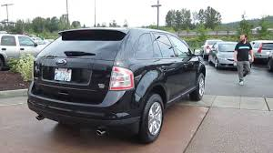 ford crossover black 2008 ford edge black stock 13 3208a youtube