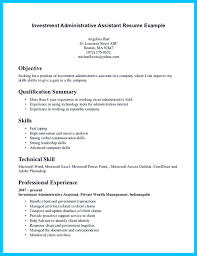 Sle Resume For An Administrative Assistant Entry Level Cover Letter Resumes For Administrative Assistant Resumes For