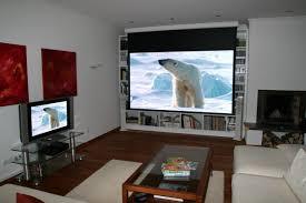 Heimkino Wohnzimmer Beleuchtung Beamer Oder Fernseher Oder Beides
