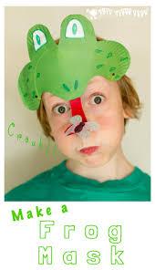 frog mask animal mask
