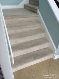 before and after nustair stairs pinterest hardwood stairs