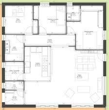 maison 3 chambres plain pied plan maison 110m2 plain pied plan de maison plain pied 3 chambres