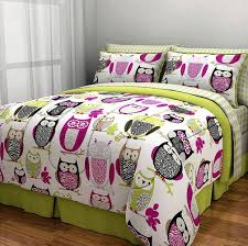 Bed In A Bag Duvet Cover Sets by Amazon Com Sketchy Owl Bed In A Bag Bedding Set Full Home