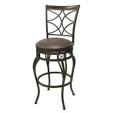 chelsea bar stool shop oil rubbed bronze 30 in bar stool at lowes com