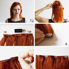 diy hair extensions make your own clip in extensions hair extensions