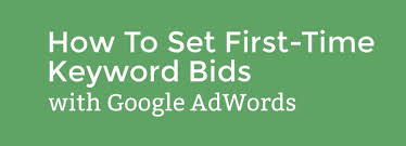 keyword bid how to set time keyword bids on adwords with automatic