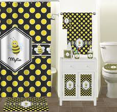 fleur de lis bathroom decor ideas on flipboard bee polka dots bathroom accessories set personalized potty