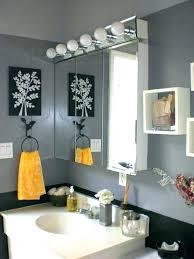 Yellow Bathroom Ideas Black White And Yellow Bathroom Accessories Vanessadore