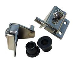 pivot hinges for cabinet doors cnh704u np bright nickel plated concealed pivot hinges for flush