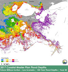 Louisiana Parish Map With Cities the 50 billion plan to save louisiana u0027s coast gets a rewrite