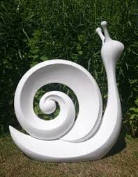give your garden a contemporary feel with this snail