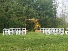 intimate wedding venue columbus ohio rustic outdoor reception