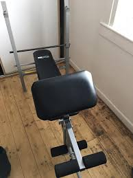 pro fitness weight bench with weights in lochgelly fife gumtree