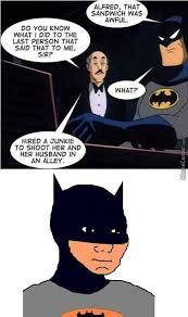Alfred Meme - y u do this alfred by steven12803 meme center