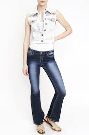American Flag Skinny Jeans Bottoms Vanilla Star Jeans
