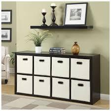 elegant closet in black varnished wood stackable cube storage f
