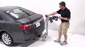 hitch for toyota camry review of the thule helium hitch bike rack on a 2012 toyota camry