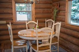 western dining room tables settler log cabin western pleasure guest ranch