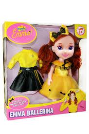 wiggles 15 inch emma doll in ballerina myer online