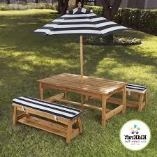 rustic outdoor picnic tables alluring teak picnic table with benches rustic outdoor picnic tables