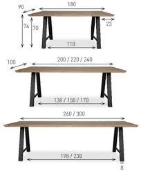 A Frame Computer Desk by Vincent Sheppard Albert Table U0027a U0027 Frame In Vincent Sheppard Dining